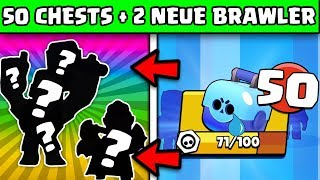 2x NEUE Brawler in einem Chest Opening 😱 | Brawl Stars Deutsch German