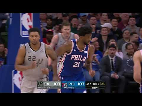 San Antonio Spurs vs Philadelphia 76ers | January 23, 2019
