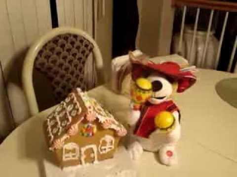 Christmas tune singing stuffed dog with Maracas