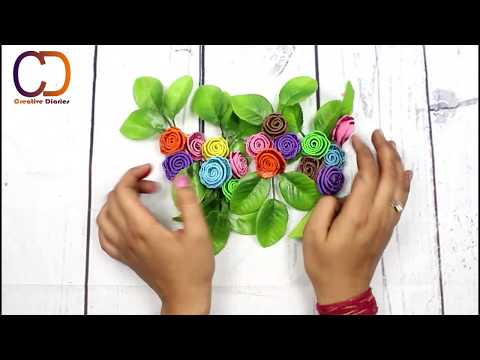 DIY EASY & UNIQUE WALL HANGING IDEA I Home Wall Decor DIY I Creative Diaries