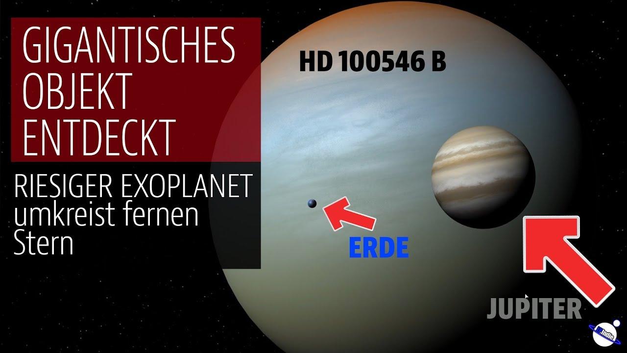 Gigantisches Objekt entdeckt - Riesiger Planet umkreist fernen Stern