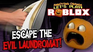 Roblox: Escape the Laundromat! [Annoying Orange Plays]