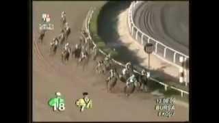 At yarışında inanılmaz sprint
