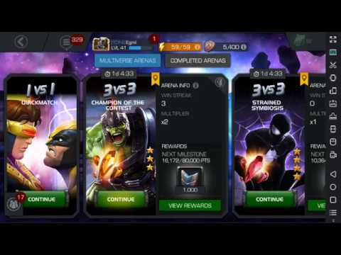 Bot for arena marvel contest of champions hack  AUTO FIGHT 24/7 update  (03 02 2018)
