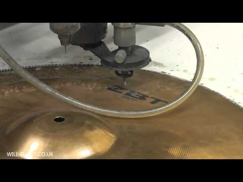 Zildjian ZBT Cymbals vs Waterjet Cutting