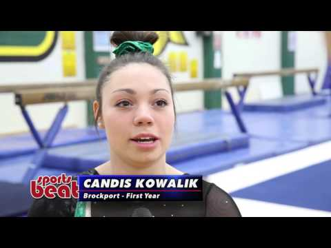 Spotlight Athlete - Candis Kowalik - SUNY Brockport Gymnastics 4-3-16