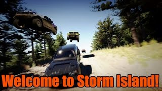 Forza Horizon 2   Storm Island Expansion   First Race and Vehicle!