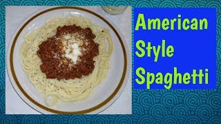 How to cook American Style Spaghetti with Mushrooms