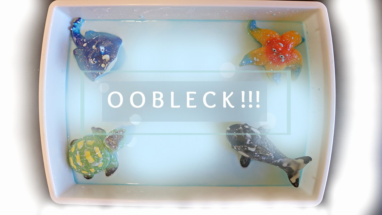How To  Make Oobleck Fun Sensory Activity For Kids