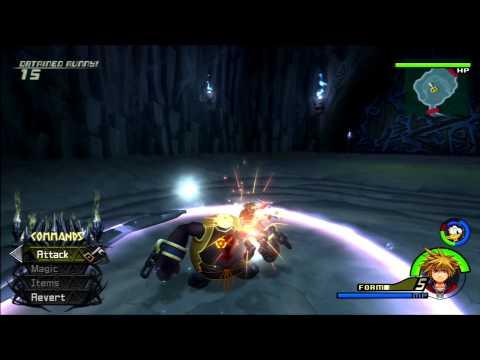 Kingdom Hearts II FM [PS3] Commentary #077, Wisdom & Valor Form ...