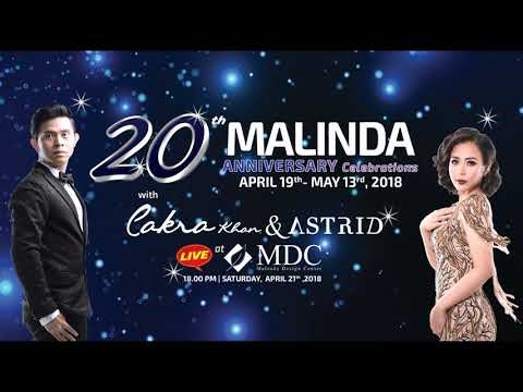 20th anniversary, @Malinda Design Center kemang showroom Jakarta Design Center.