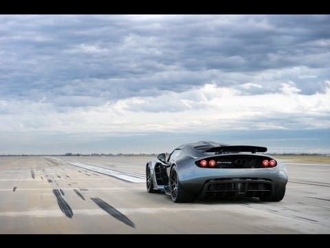 Venom GT Guinness World Record 0 - 300 km/h: 13.63 sec.