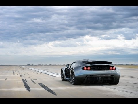 Venom GT Guinness World Record 0 – 300 km/h: 13.63 sec.