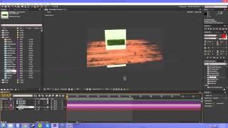After Effects CS6 Tutorial - 107 - Create a Reflection without Plugins Part 1