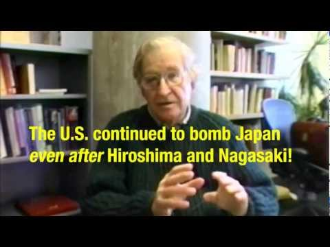 Chomsky - The Killing Didn't End With Hiroshima and Nagasaki
