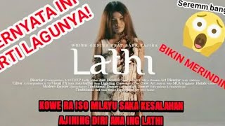 Download Seramm!! beginilah arti dari lagu lathi weird genius   bikin merinding