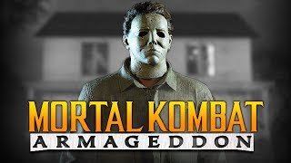 """Michael myers for kombat pack 2? - mk armageddon """"kreate a fighter"""" arcade ladder gameplay! the 2 dlc is talk of town it seems and in thi..."""