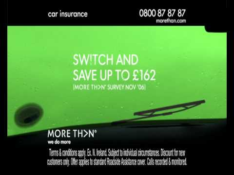 MORE THAN INSURANCE BREAKDOWN TV ADVERT