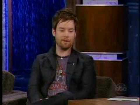David Cook on the Jimmy Kimmel Show