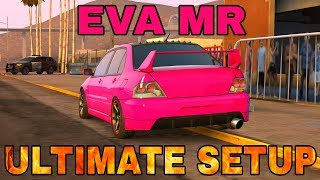 EVA MR Ultimate Setup + Test Drive! (Mitsubishi Evolution IX) | TOP CAR | CarX Drift Racing