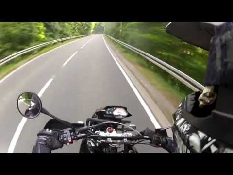 Riding around with MZ 660 SM |Full Throttle|Underground Parking Area with G.P.R.