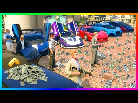 BECOMING A MILLIONAIRE IN GTA ONLINE - ULTIMATE MONEY MAKING PREPARING FOR NEW GTA 5 DLC CONTENT!