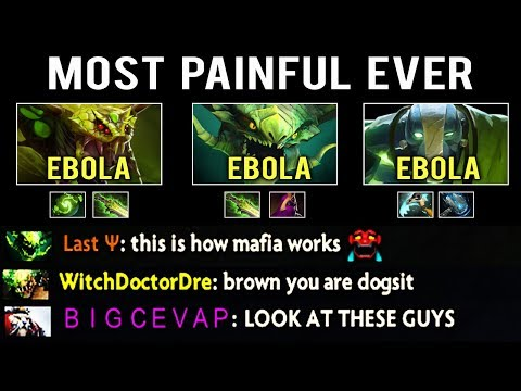 MOST PAINFUL DEATH EVER In Dota 2 ! Ebola Team Combo Make Enemy Death In Vain Crazy Game by Nikonica thumbnail