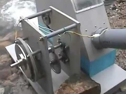 Su Gücü Ile Elektirik Böyle üretilir