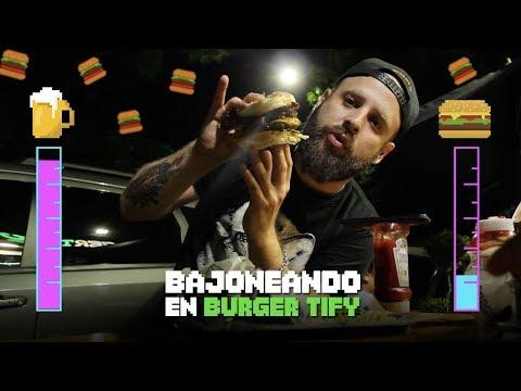 Bajoneando en Burger Tify