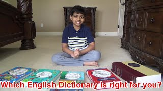 Which English Dictionary is right for you?