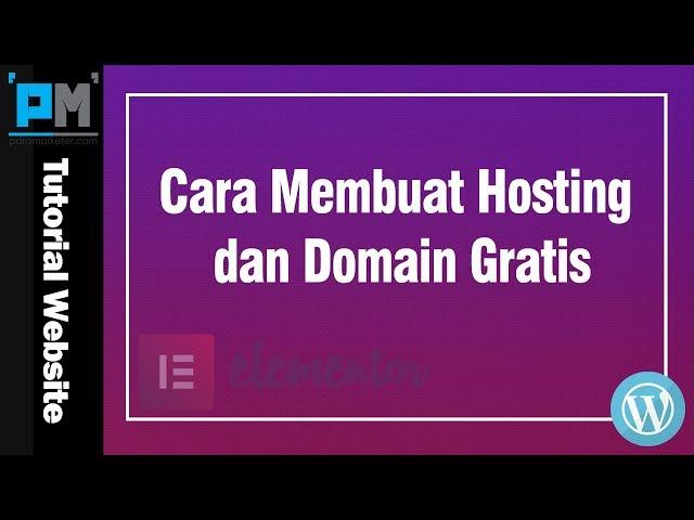 Cara Membuat Hosting dan Domain Gratis #8