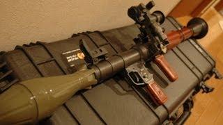 RPG-7をソ連仕様&弾頭が飛ぶようにカスタムした/ RPG-7 shooting rocket launcher thumbnail