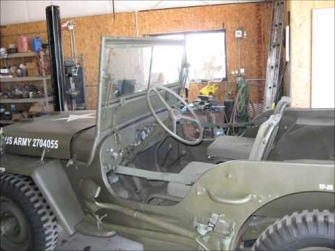 For Sale ~ 1942 GPW Ford Willis Military Jeep ~ Priced to Sell Fast ~  e-mail me at: GW42@msn com