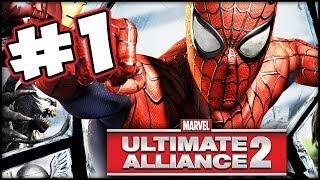 Marvel Ultimate Alliance 2 - Part 1 - The Dream Team