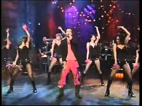 JC Chasez Some Girls (Dance With Women) live on Jay Leno 2004