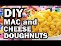 DIY Mac and Cheese Doughnut, Corinne VS Cooking #15