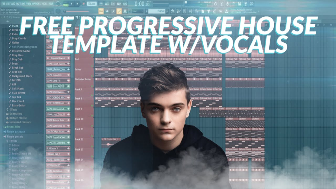 Free Professional Progressive House Template with Vocals [FREE FLP +  Presets] | FL Studio
