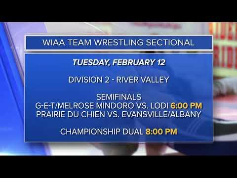 2/10/19 - WIAA Team Wrestling Sectionals