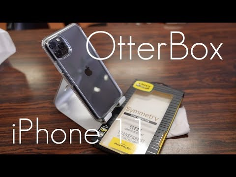 OtterBox Symmetry Crystal CLEAR CASE -  iPhone 11 Pro / Max - Hands On Review