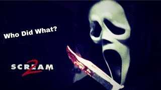 Who Killed Or Attacked Who - Scream 2 (1997)