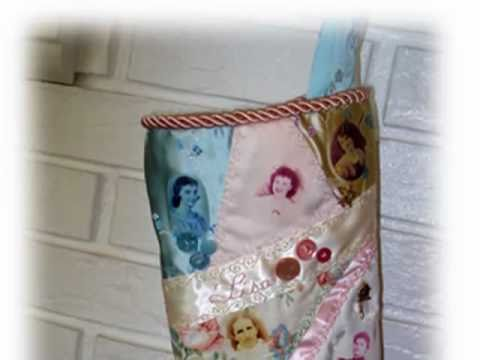 History Of Christmas Stockings.Family History Christmas Stocking Project Crazy Quilting Part 1