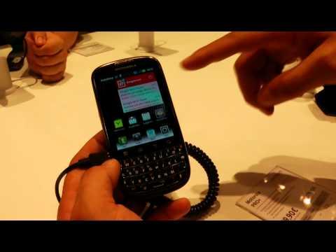 Motorola Fire e Motorola Pro+ QWERTY Android anteprima