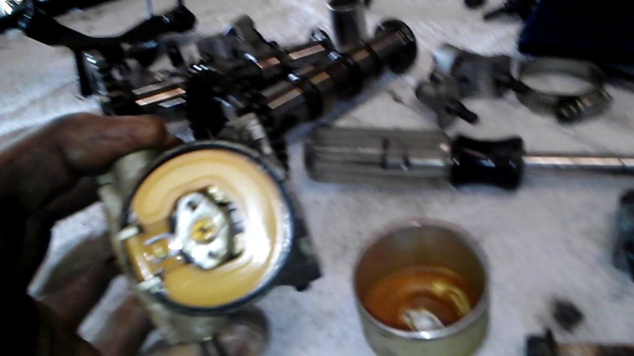 Kawasaki mule won't start carb n bad gas n rust in tank