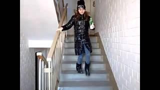 Пародия на клип Take Me To Church, Полина and Лиза