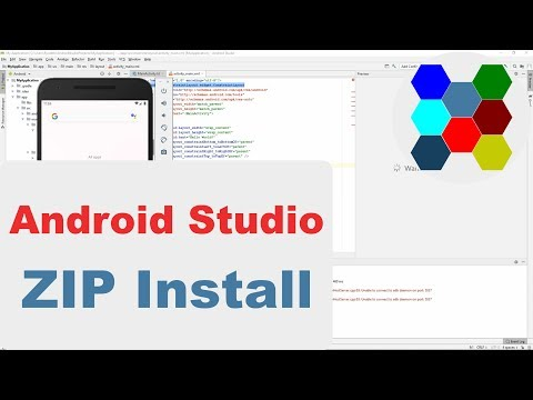 How To Install Android Studio 3.4.2 ZIP Package
