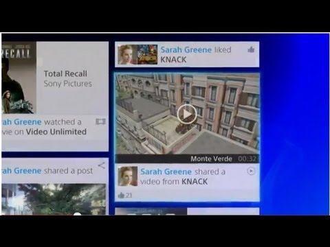 PS4 Video Shows Off New Interface, Video Sharing and Game Downloads