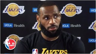 LeBron James admits he and Lakers are not mentally ready for the playoffs yet   NBA on ESPN