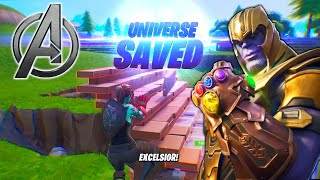 Fortnite Avengers EndGame Win w/ My Dad (CralinYT)