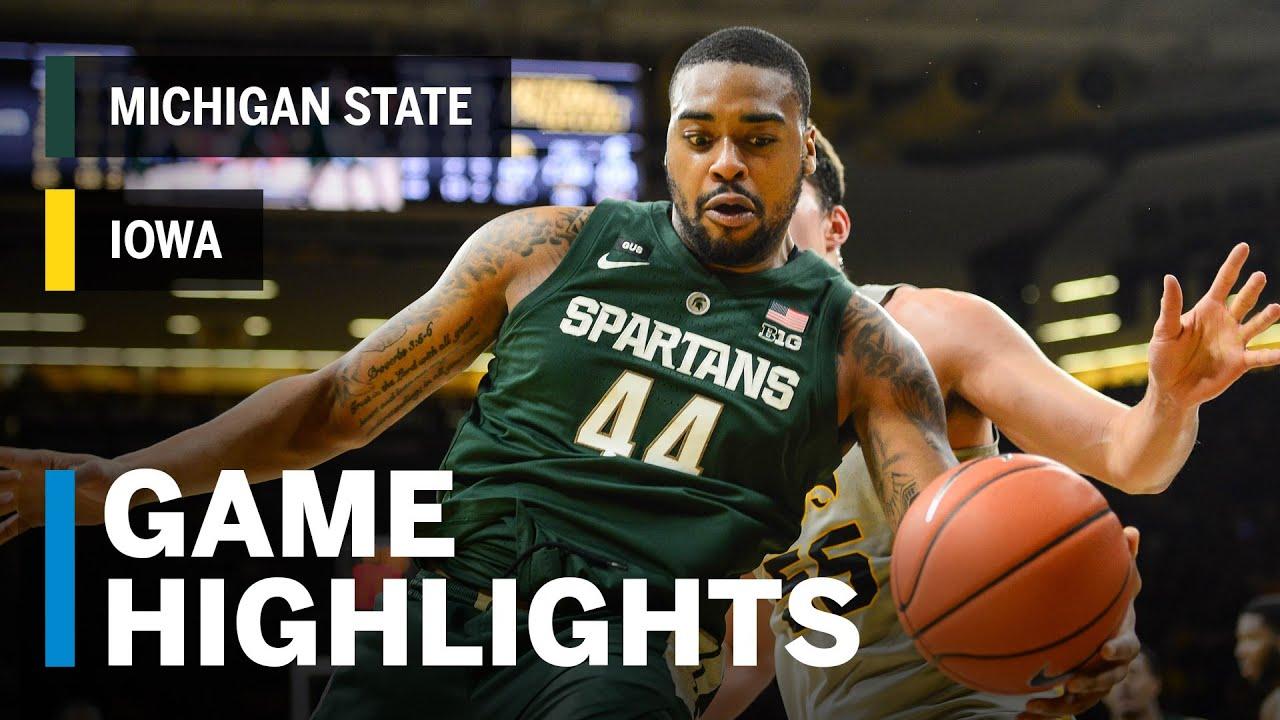 Men's Basketball Breakdown: Iowa vs. Michigan State
