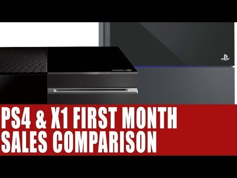 PS4 & Xbox One News - 1st Month Sales Comparison -  NPD Group Reveals Sales For November 2013